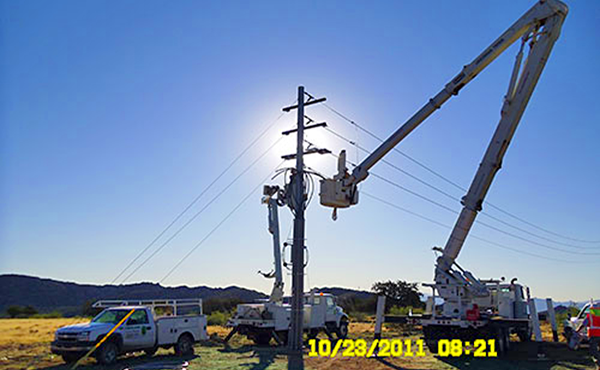 Power Line Installers