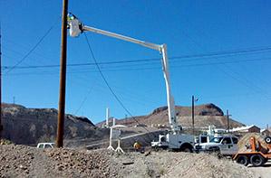 Electric Line Repair